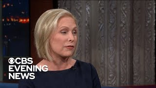 Kirsten Gillibrand announces run for president on ″The Late Show with Stephen Colbert″