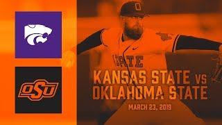 Oklahoma State Cowboy Baseball vs. Kansas State