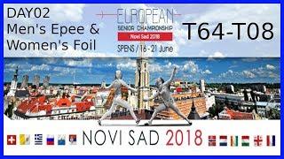 European Championships 2018 Novi Sad Day02 - Piste Blue