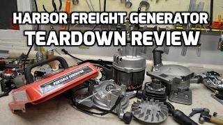 Teardown: Harbor Freight Storm Cat or Tailgator generator review