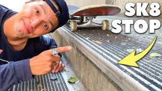 The Most Clever Way to Stop Skaters