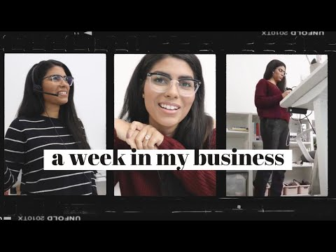 Work Week in My Life as a Freelancer | What I'm Reading + BTS of a Black Friday Launch