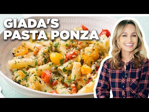 Giada De Laurentiis' Pasta Ponza | Giada At Home | Food Network