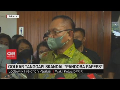 Golkar Tanggapi Skandal 'Pandora Papers'