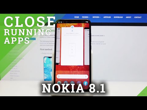 How to Turn Off Running Apps in NOKIA 8.1 – Close Background Apps