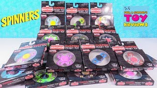 SPNRS Custom Fidget Toy Spinners Zag Toys Unboxing Review | PSToyReviews