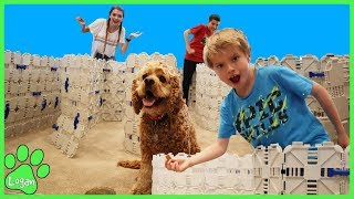 Doggo Maze Tag / Logan The Adventure Dog