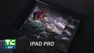 Apple's new 10.5″ iPad Pro demo