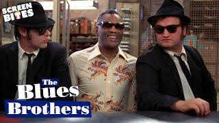 The Blues Brothers - Ray Charles Shake Your Tail Feather OFFICIAL HD