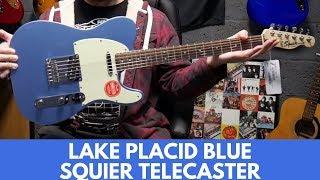 UNBOXING Squier FSR Bullet Telecaster Lake Placid Blue | Review Demo