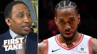 Kawhi didn't make the right play in the final moments of Game 5 - Stephen A. | First Take