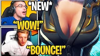 Streamers React To *NEW* ″BOUNCE″ Feature in Fortnite (Game Physics)