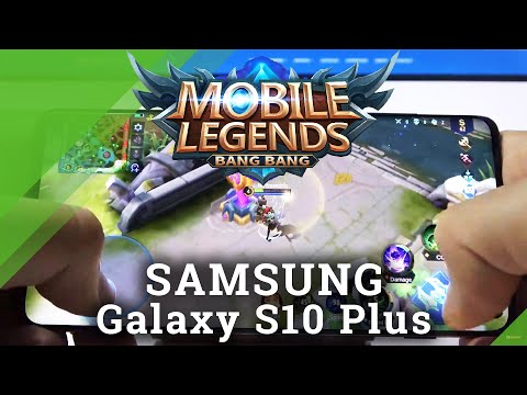 Mobile Legends on SAMSUNG Galaxy S10 Plus – SAMSUNG Game Test