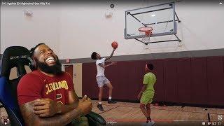 Flight Tried To Hide This 1vs1 Basketball LOL!!!!!