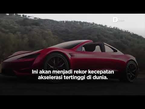 Tesla Roadster Gunakan Pendorong Roket SpaceX | Katadata Indonesia