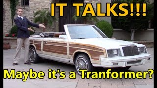 I Bought the Ugliest Car in the USA- AND IT TALKS!!!