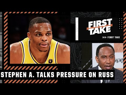 Stephen A.: Russell Westbrook will have pressure to 'show up & SHOW OUT' this season | First Take