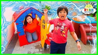 What Causes Lightning and Thunder??? | Educational for kids with Ryan ToysReview