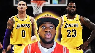 IS KUZMA(NIA) SHOWING LA HE'S THEIR 2ND BEST PLAYER!? Lakers vs Detroit Highlights | *REACTION*