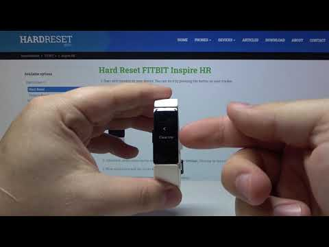 Hard Reset FITBIT Inspire HR - Remove All Data from FITBIT Inspire HR