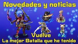 Final fantasy brave exvius:Novedades y Noticias/Vuelve la mejor Batalla que he tenido en este juego