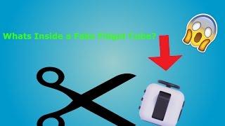 Whats Inside a Fake Fidget Cube!?
