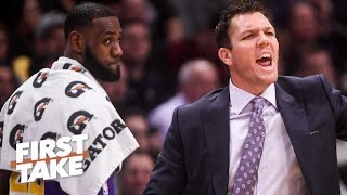 Lakers will fire Luke Walton after failed playoff push – Stephen A. | First Take