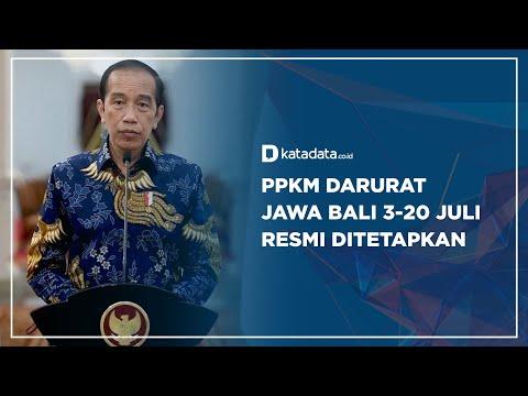 PPKM Darurat Jawa Bali 3-20 Juli Resmi Ditetapkan | Katadata Indonesia