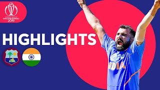 India March On With Easy Win   West Indies vs India - Match Highlights   ICC Cricket World Cup 2019