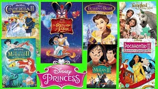 Disney Princess Classic Posters Part 2 Jigsaw Puzzle Games