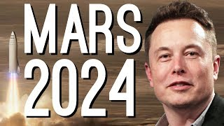 Elon Musk: ″We're Going to Mars by 2024″