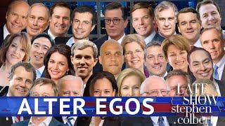 Late Show's Alter Egos: The Democratic Candidates