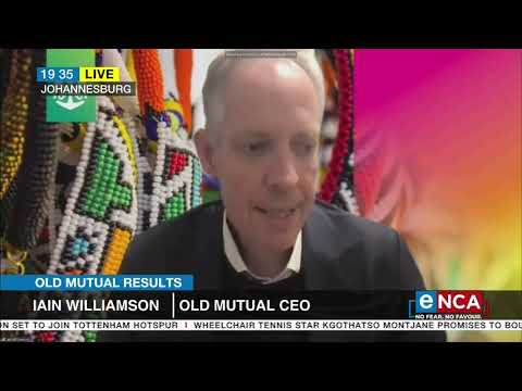 Old Mutual's group CEO talks profits despite COVID-19 hit