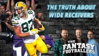 Fantasy Football 2017 - The TRUTH About Fantasy WR's in 2016, Part 1 - Ep. #342