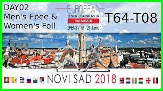 European Championships 2018 Novi Sad Day02 - Piste 6