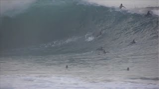 RAW - Fearless Professional Skimboarder/Surfer Attempts to Ride the Most Dangerous Beachbreaks
