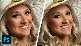 Fix Camera Portrait Distortions Like Big Noses in Photoshop!