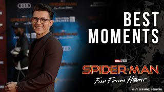 Spider-Man: Far From Home Red Carpet | Best Moments!