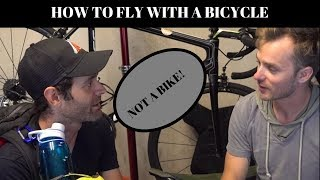 Phil's Garage, featuring Orucase: How to fly with your bike for free!