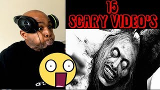REACTING TO 15 INSANELY SCARY 'S - Try Not To Get Scared Challenge