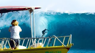 SURFING TEAHUPOO for the FIRST TIME