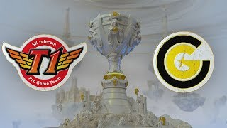SK telecom T1 ( SKT ) vs Clutch Gaming ( CG ) Maçı | Worlds 2019 Grup Aşaması 7. Gün