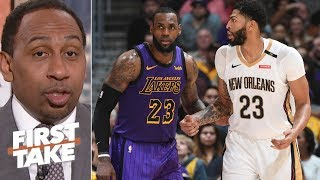 Lakers and Knicks will struggle to get Anthony Davis –Stephen A. | First Take
