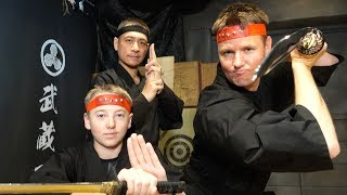 What's inside REAL NINJA TRAINING?