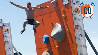 Matt Gets Scared 15m Above The Sea | Climbing Daily Ep.1191