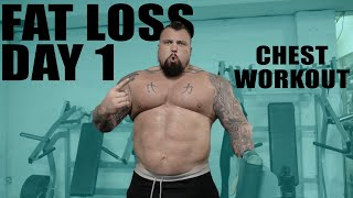 Chest Session | Fat Loss Challenge Ep 2