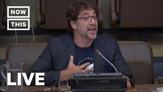 Javier Bardem Speaks at the UN on Our Oceans   NowThis