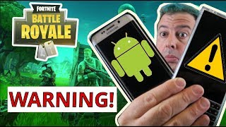 Fortnite for Android APK WARNING - Know this BEFORE installing Fortnite on Android