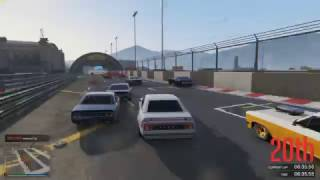 That's one way to start a race...