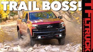 Will the 2019 Chevy Silverado TrailBoss Conquer the Cliffhanger 2.0 Trail